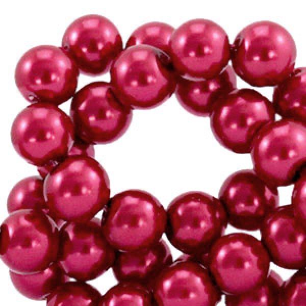 Glaswachsperlen - Ruby wine Red ( 8 mm)